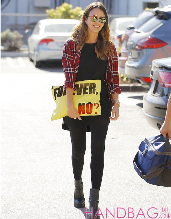 137db1654c20 Jessica Alba may glam it up on the red carpet but in her everyday family  life
