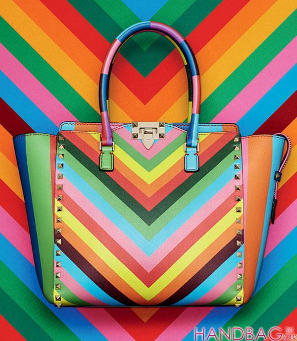 0d4dfa40dec4 Over the Rainbow  Valentino Resort 2015 - Handbag du Jour - Blog for ...
