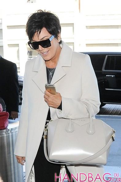 7c2bbbd38642 Kris Jenner with Givenchy Antigona Bag at LAX - Handbag du Jour ...