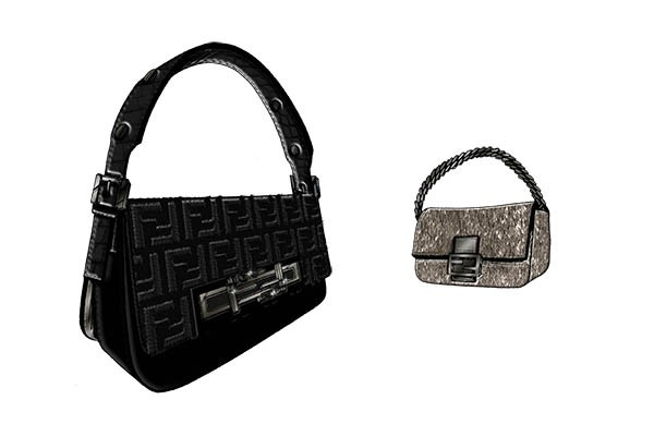 Fendi's Latest Bag Design The 3Baguette Bag