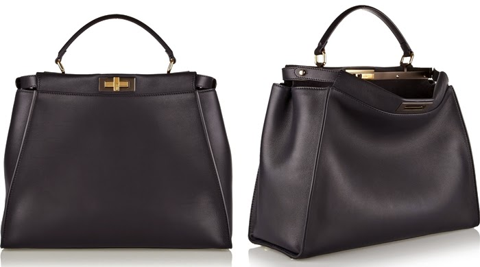 Fendi Peekaboo Leather Bag