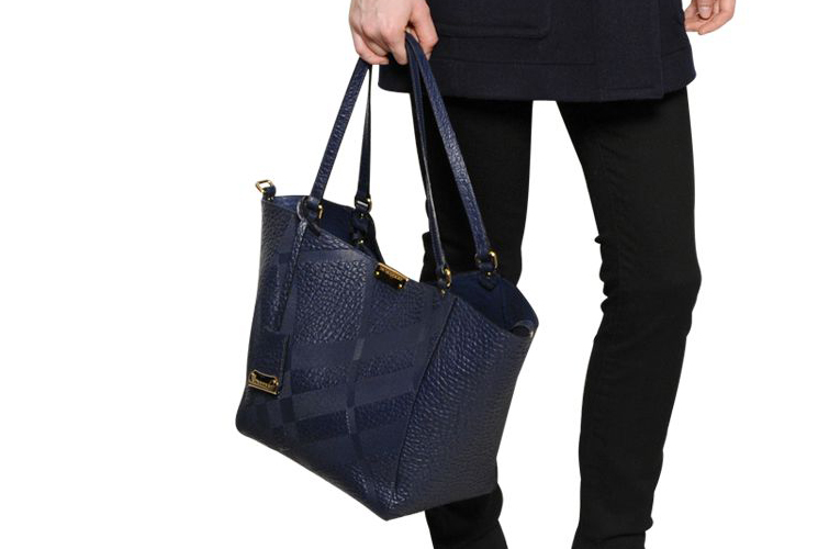 Burberry Tote Embossed