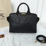 Burberry Clifton Tote Bag in Grained Leather