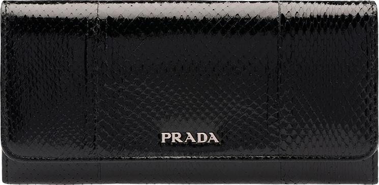 leather prada