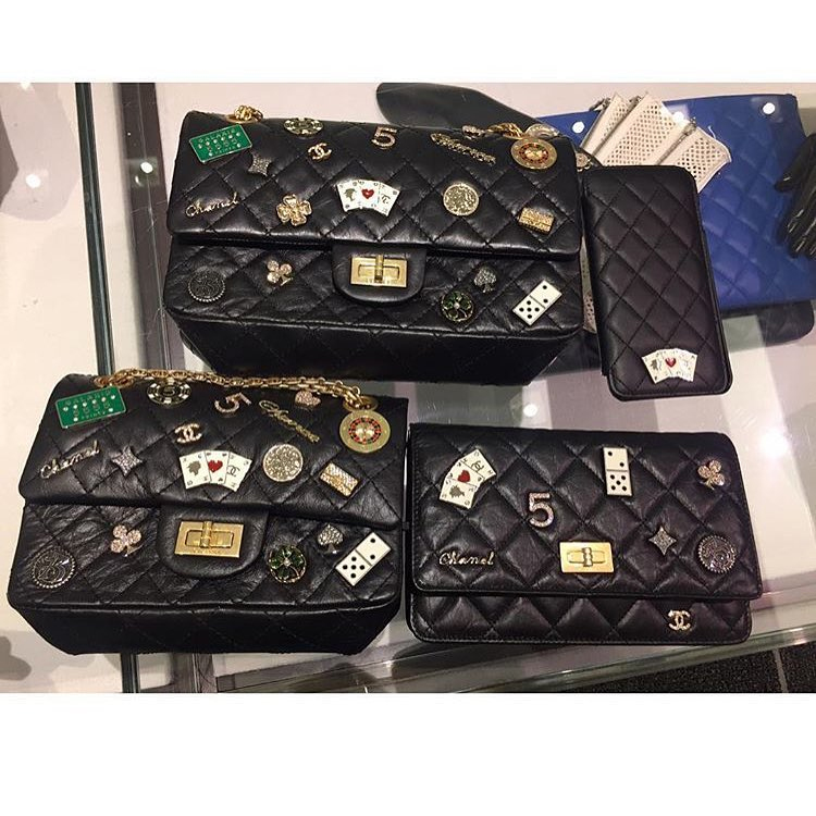 reviewing chanel reissue 2 55 charms shoulder bag