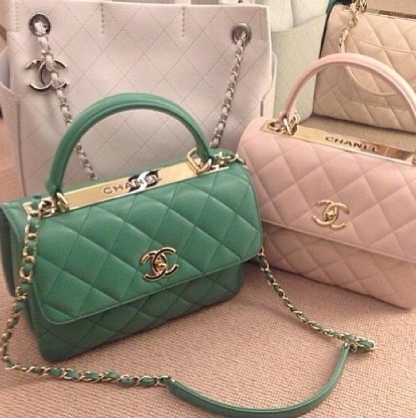 Previewing Chanel Crispy CC Shoulder Bag - Blog for Best Designer ... 1b8902c6b937e