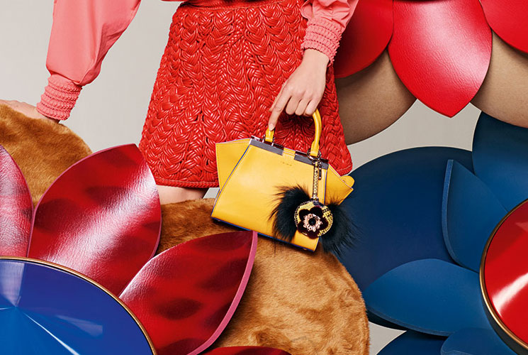 Fendi Spring Summer 2016 Bag Campaign