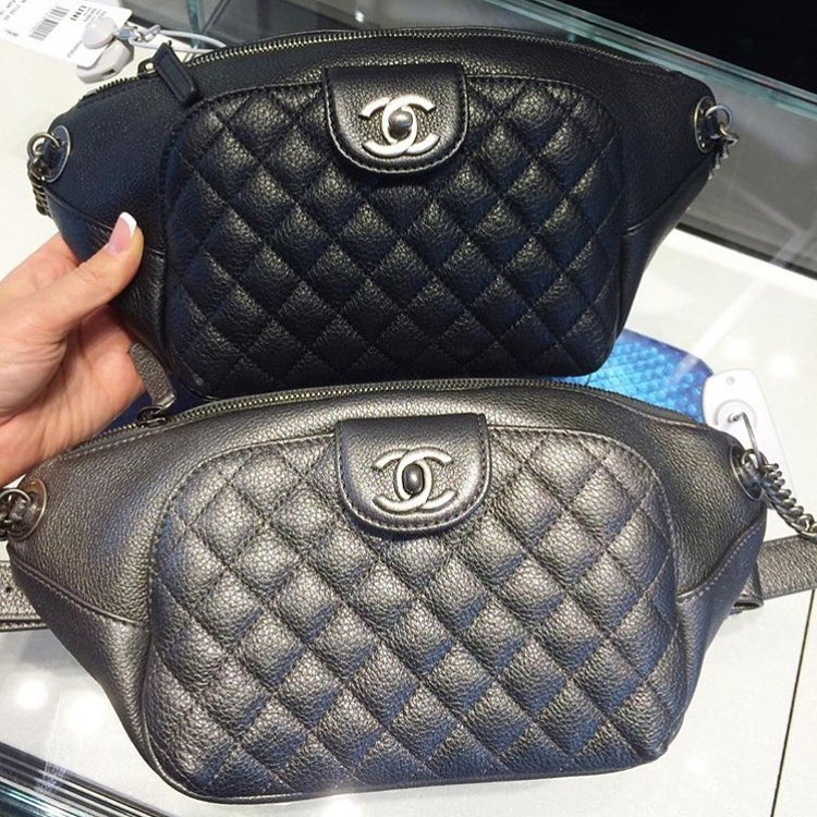 New Chanel Quilted Belt Bag