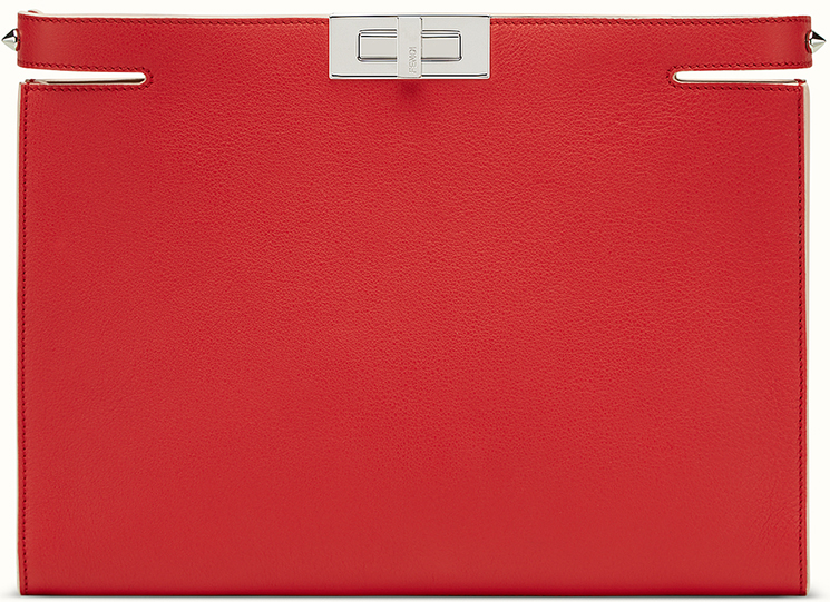 New Fendi Peekaboo Clutch Bag
