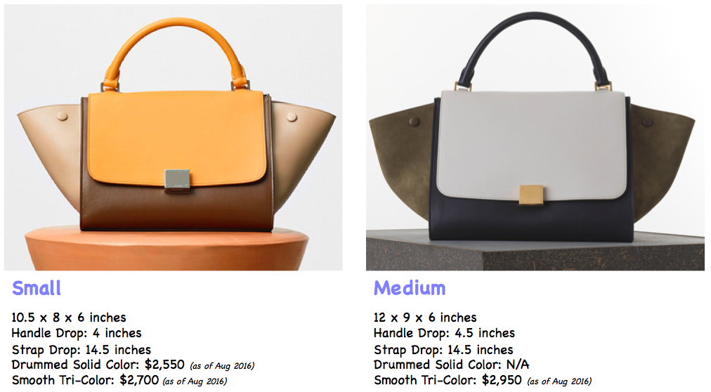 3fd02c6f289f Celine Trapeze Review - Blog for Best Designer Bags Review