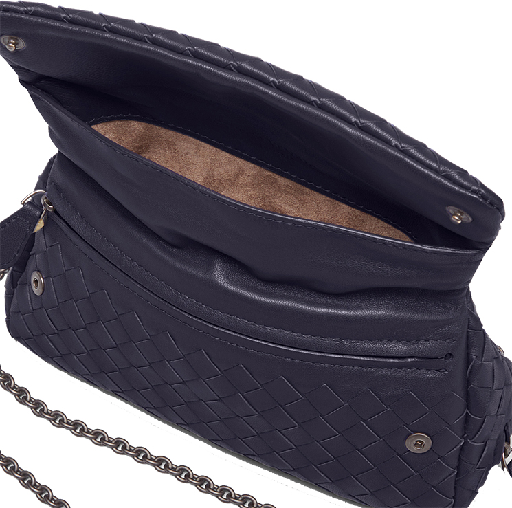 35e609cbaf Bottega Veneta Intrecciato Nappa Messenger Bag - Blog for Best ...