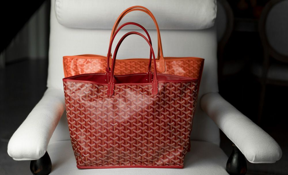 70a12f806a8d The Ultimate Bag Guide  The Goyard St. Louis Tote and Goyard Anjou ...