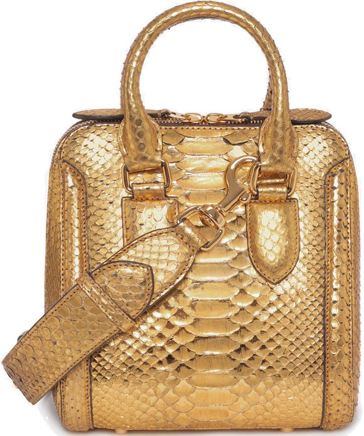 Alexander McQueen Heroine Bag Reinterpreted
