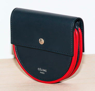 Classic and Chic Celine Red Piping Print Bag Collection