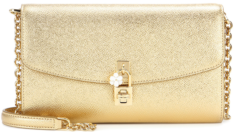 Dolce Gabbana Dolce Embroidered Shulder Bag
