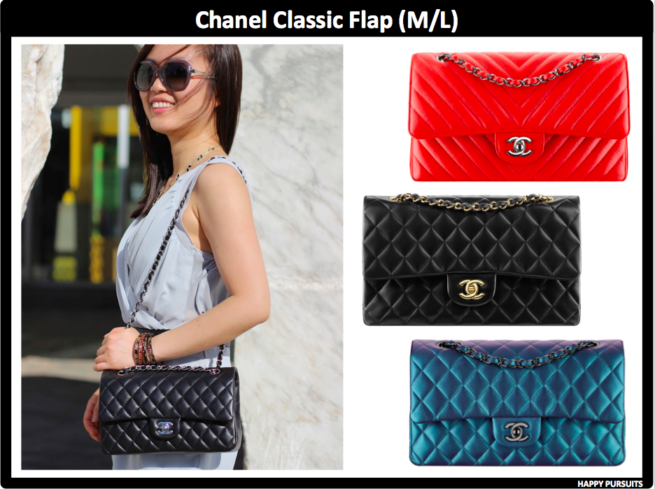 2fd35a961d60 The first bag on my list is the Chanel Classic Flap. Besides the minis