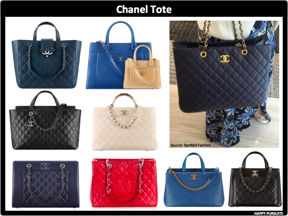 4b49c730baae85 Chanel totes are a favorite among handbag enthusiasts. The GSP and the  Executive Cerf totes are Chanel's most well-known designs.