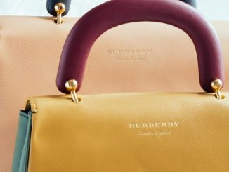 Burberry DK88 Back closeup