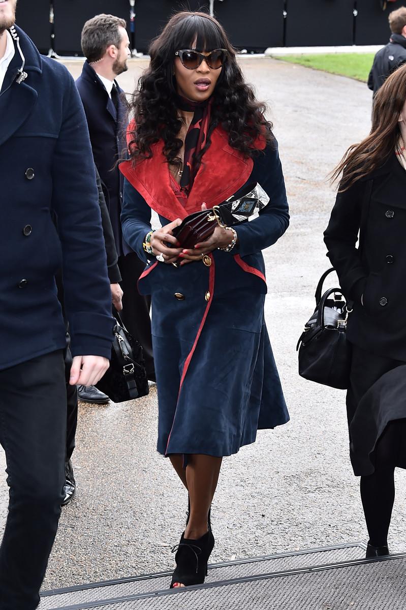 Naomi Campbell Burberry Patchwork Bag