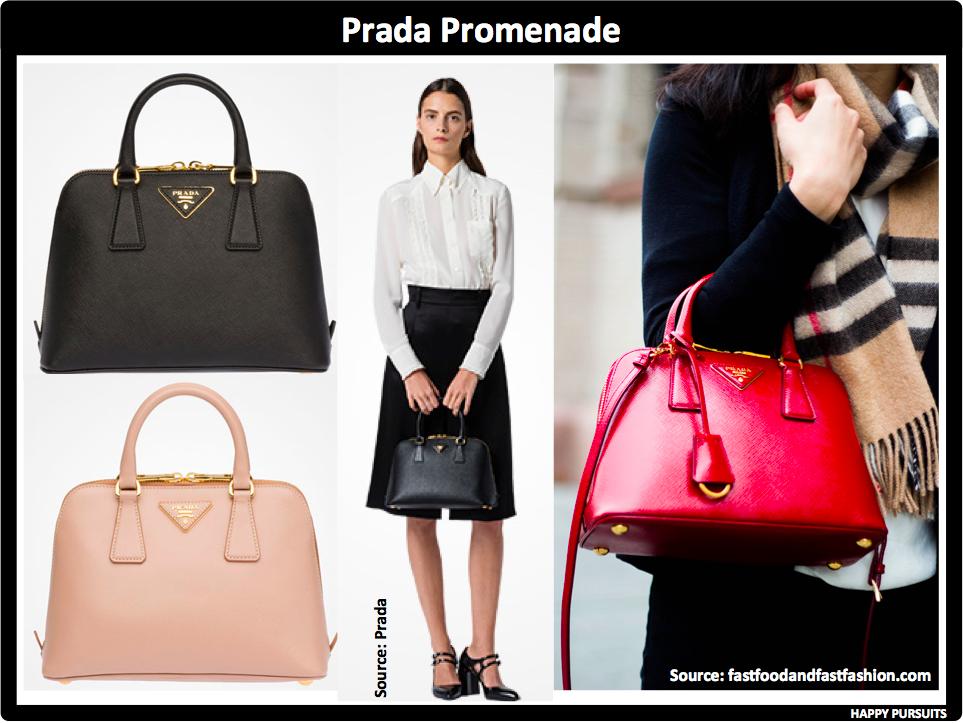 0f40f69dcd07 The last handbag on my list is the Prada Promenade. Yes this bag looks  exactly like the LV Alma