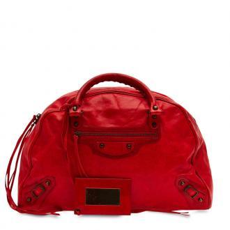 Balenciaga Bowling Bag Leather