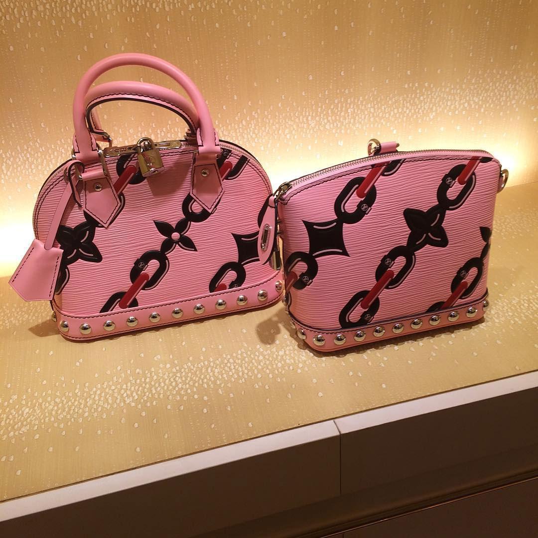 Louis Vuitton Monogram Chain Print Bags