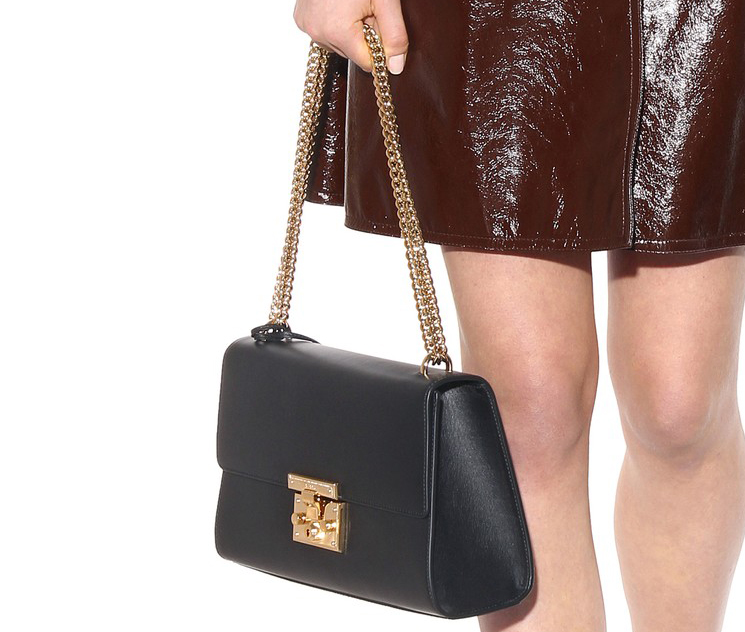 New Gucci Large Padlock Shoulder Bag