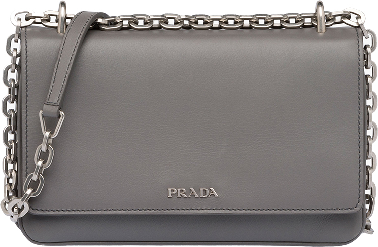 New Prada Chain Shoulder Bag