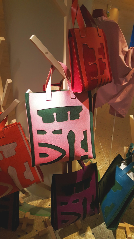 New Hermes Birkin And Kelly Leather Cutout Totes