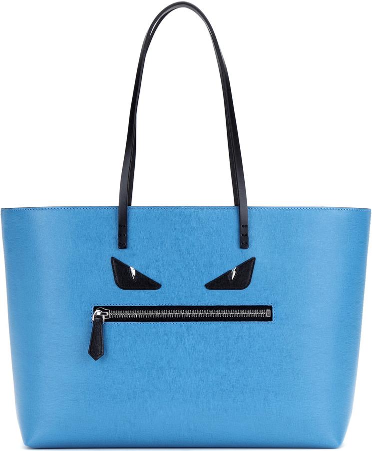 Fendi Roll Monster Face Shopping Bag