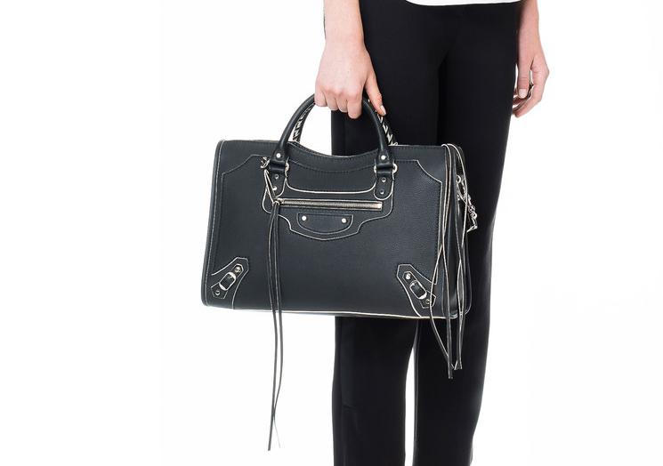 2016 New Balenciaga Highlight City Bag