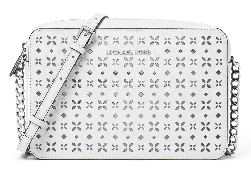 MICHAEL Michael Kors Jet Set Laser-Cut Crossbody Bag