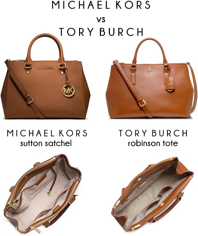 Michael Kors vs Tory Burch bag