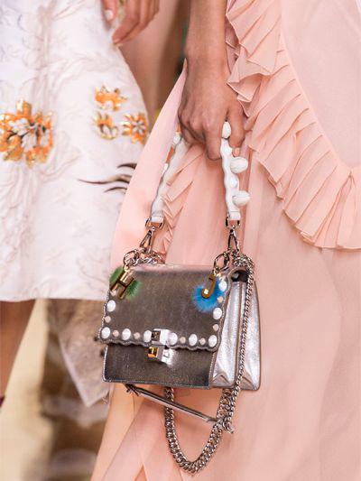Elegant Fendi Kan I Shoulder Bag