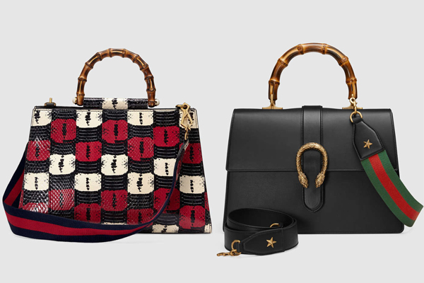 Gucci Nymphaea and Dionysus Top Handle Bags