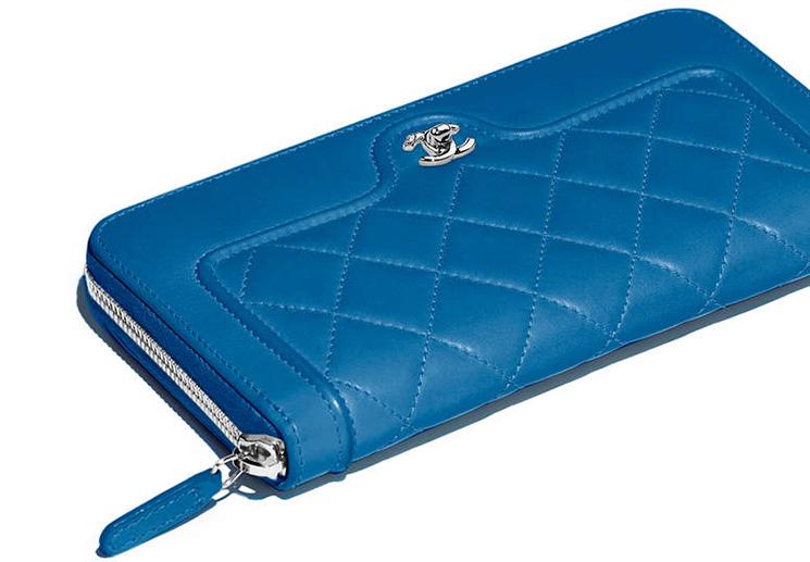 Chanel Futuristic Wallets