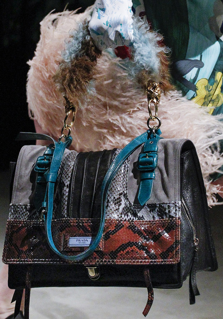 Prada Fall Winter 2017 Runway Bag Collection