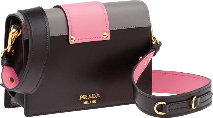 Prada Gold Plated Ribbon Bag