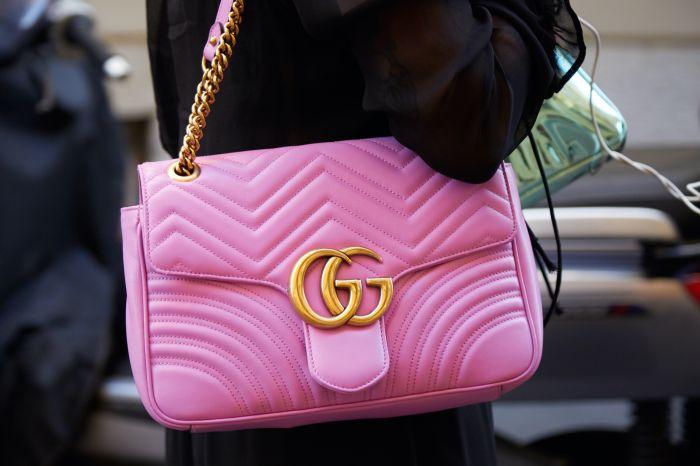 pink gucci bag